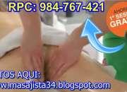 Ofresco masaje relajante y masaje sensual solo pa…