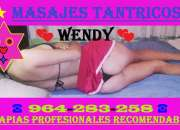 Masajes tantricos * wendybb * para ambos sexos a domicilios, etc * 964-283-258 *
